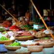 Vietnam-Hanoi-Market-Vegetables