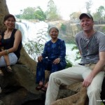 Dray Sap Waterfall with vietnamese family - Vietnam, Central Highlands
